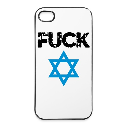 iPhone 4/4S Hoesje - Fuck Israel - iPhone 4/4s hard case