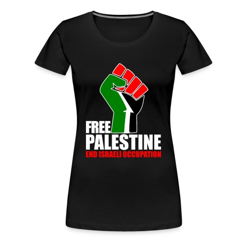 Vrouwen T-Shirt - Free Palestine - Vrouwen Premium T-shirt