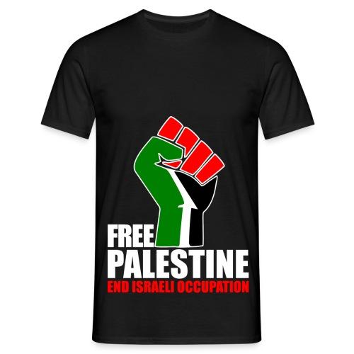 Mannen T=Shirt - Free Palestine - Mannen T-shirt