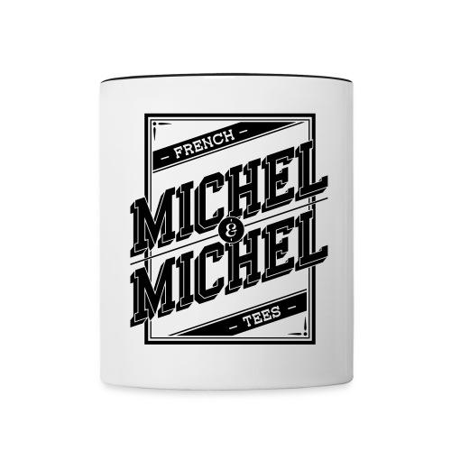 Mug MICHEL & MICHEL - Mug contrasté