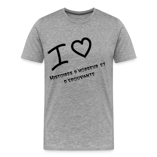 I love page FB - T-shirt Premium Homme