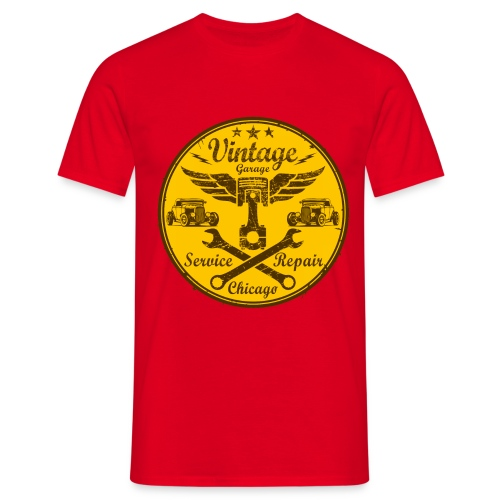 vintage repair service 03 - Men's T-Shirt
