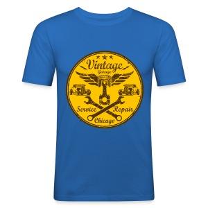 vintage repair service 03 - Men's Slim Fit T-Shirt