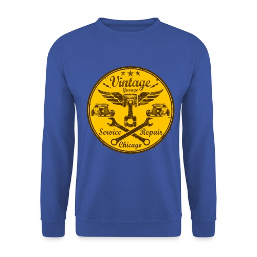 vintage repair service 03 - Men's Sweatshirt