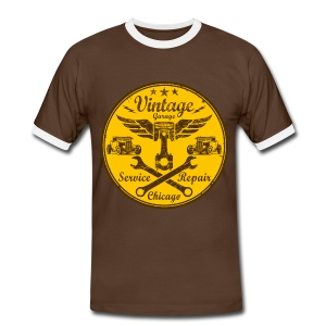 vintage repair service 03 - Men's Ringer Shirt