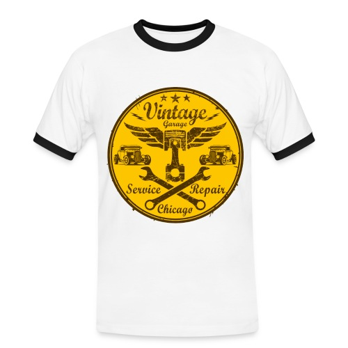 vintage repair service 03 - Men's Ringer Shirt