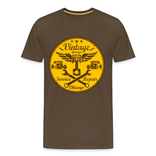 vintage repair service 03 - Men's Premium T-Shirt