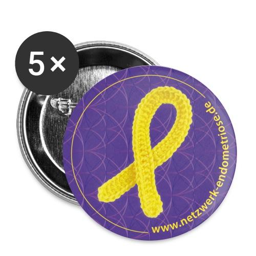 Netzwerk Endometriose, Buttons - Buttons mittel 32 mm