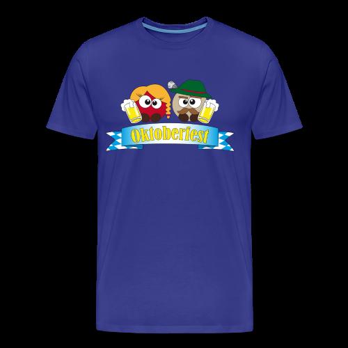 Herrenshirt Oktoberfest Pushies - Männer Premium T-Shirt
