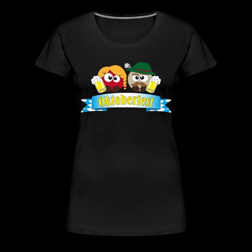 Damenshirt Oktoberfest Pushies - Frauen Premium T-Shirt