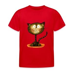 The Happy Cat - Kinder T-Shirt