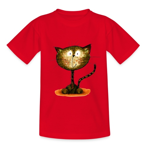 The Happy Cat - Kinder T-Shirt