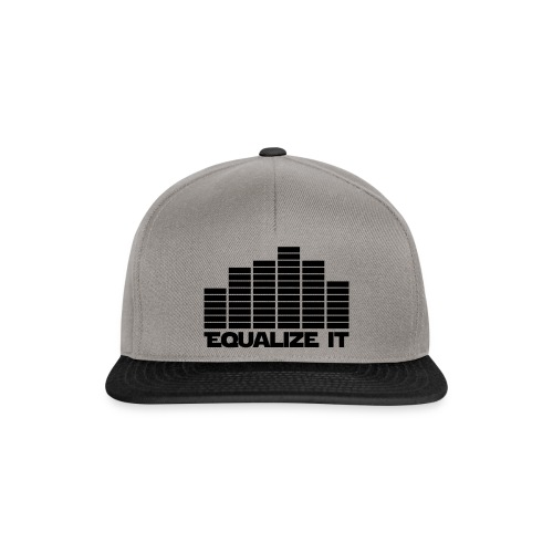 Equalize It - Snapback cap
