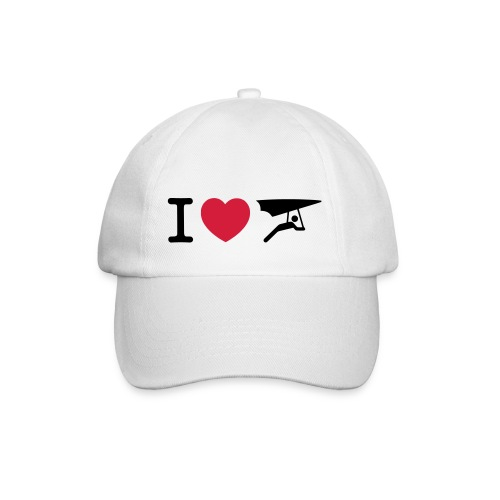 I love hanggliding pet - Baseballcap