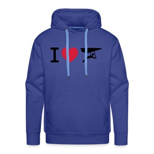 I love hanggliding sweater - Mannen Premium hoodie