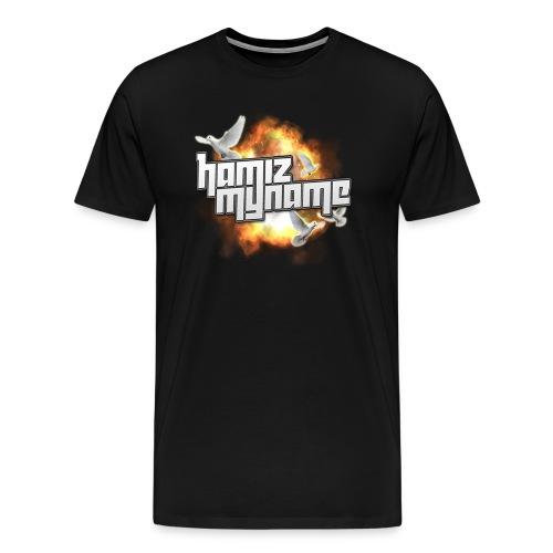 HAM BIRDS LOGO MENS PREMIUM SHIRT - Men's Premium T-Shirt