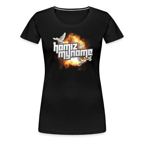 HAM BIRD LOGO premium T Shirt  WOMENS  - Women's Premium T-Shirt