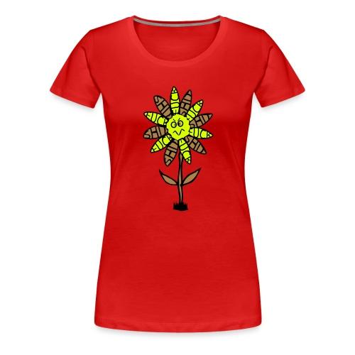 Tourette Flower Koszulki - Frauen Premium T-Shirt