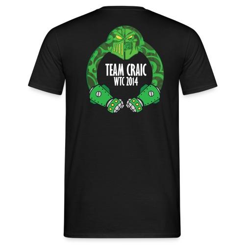 Team Craic Black Basic - Men's T-Shirt