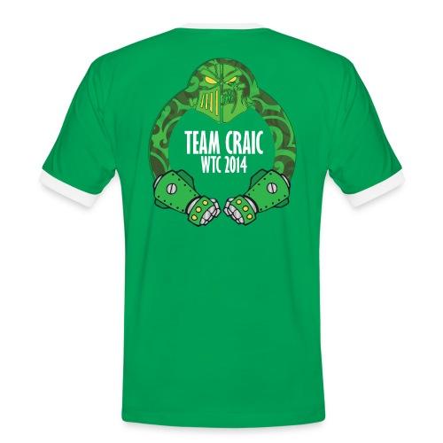 Team Craic Tee - Back Only - Men's Ringer Shirt