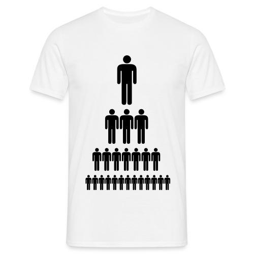 HIERARCHY - Herre-T-shirt