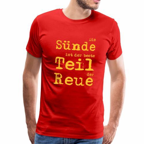 Die Sünde - Männer Premium T-Shirt
