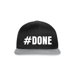 #Done Snap Back - Snapback Cap