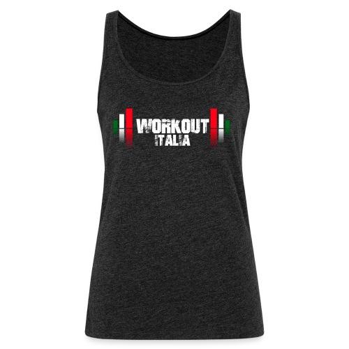 Canotta Logo Workout - Canotta premium da donna
