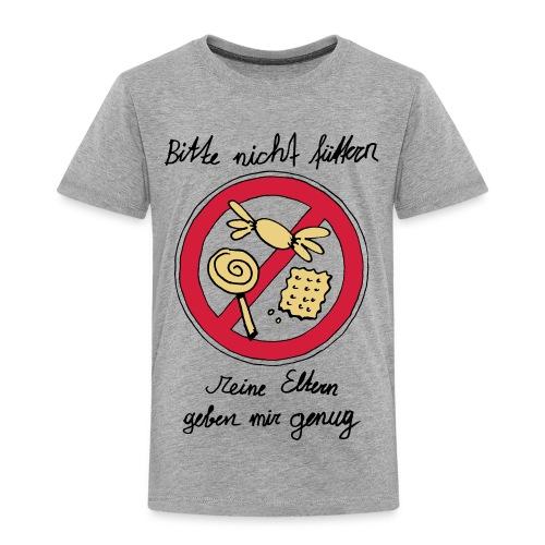 Bitte nicht füttern, Grau - Kinder Premium T-Shirt