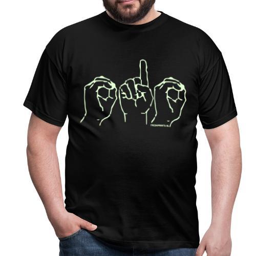 010 Glow in the Dark - Mannen T-shirt