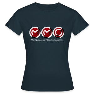 Women's T-Shirt Navy Blue - Women's T-Shirt