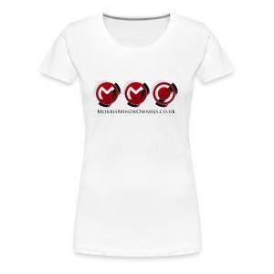 Women's Premium T-Shirt White - Women's Premium T-Shirt
