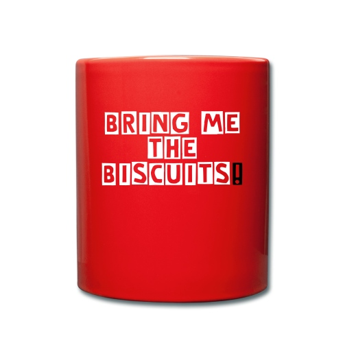 Bring me the biscuits (red) - Full Colour Mug