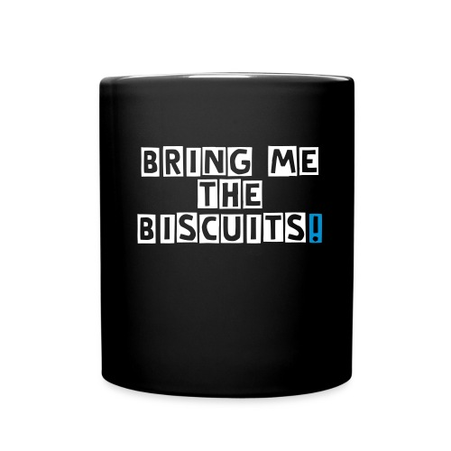 Bring me the biscuits (black) - Full Colour Mug