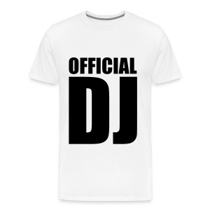 Official DJ - T-shirt Premium Homme