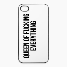 Queen of fucking everything Phone & Tablet Cases
