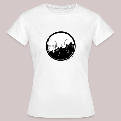 Yin Yang G&M - Donna - Maglietta da donna
