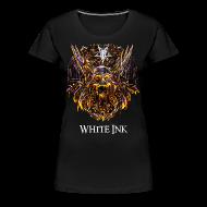 T-Shirts ~ Women's Premium T-Shirt ~ White Ink: Chapter One