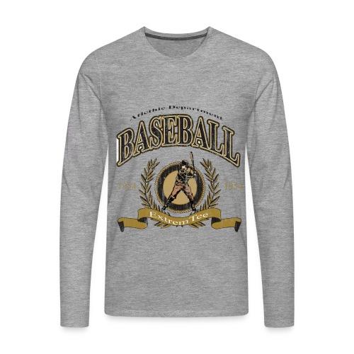 Maglietta uomo baseball - Maglietta Premium a manica lunga da uomo