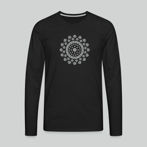 RVA - Rosace Velours Argent - ML - T-shirt manches longues Premium Homme