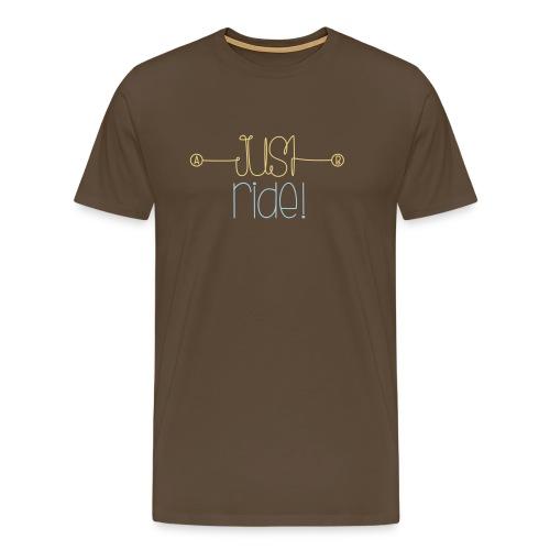 TShirt Just Ride | Daiv - T-shirt Premium Homme
