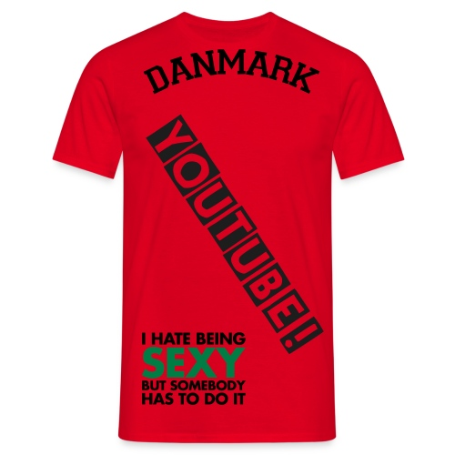 T-shirt til Teenagere! - Herre-T-shirt