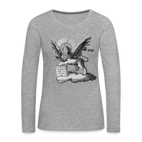 Lion de SanMarco manches longues - T-shirt manches longues Premium Femme