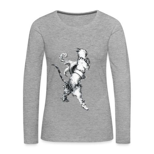 Chat botté manche longues - T-shirt manches longues Premium Femme