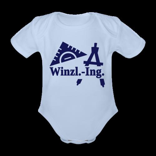 Winzling-Kurzarmbody - Baby Bio-Kurzarm-Body