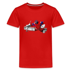goalkeeper T-Shirts - Teenager Premium T-Shirt
