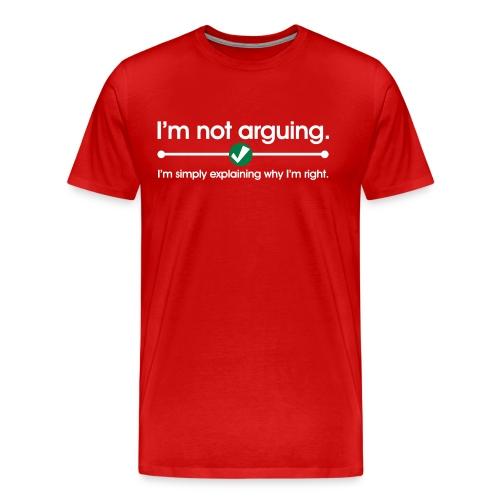 Mrs.Right - Men's Premium T-Shirt