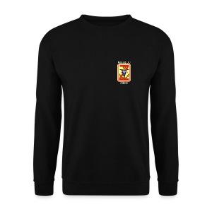 NEU WAHRSCHAU ZIEGE in Schwarz beidseitig bedruckt - Männer Pullover