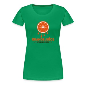 Orange Juice - Vrouwen Premium T-shirt