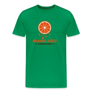 Orange Juice - Mannen Premium T-shirt